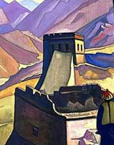 Great Wall of China by Nicholas Roerich