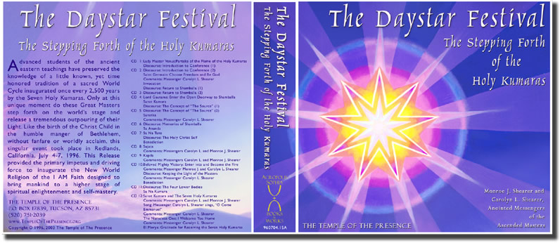 The Daystar Festival - The Stepping Forth of The Seven Holy Kumaras
