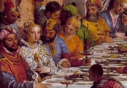 Marriage at Cana by Paul the Venetian