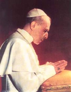 Pope Pius XII photograph