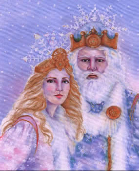 Snow Queen and Snow King