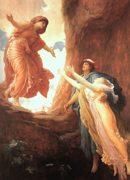 Demeter, Persephone and Hermes