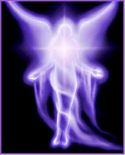 Violet Flame Angel