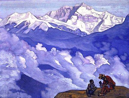 Pearl of Searching by Nicholas Roerich